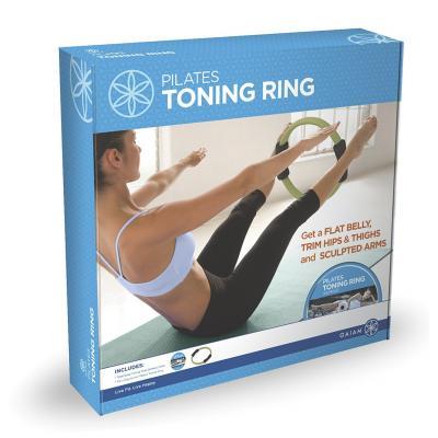 Gaiam fitness, gymnastiek & gewichtstraining: Pilates Toning Ring