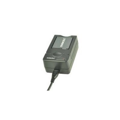 Duracell oplader: USB, 5V, Replacement f/ Casio NP-40/NP-90 - Zwart