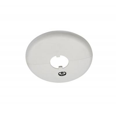 B-Tech Ceiling Mount Cover Plate, White Muur & plafond bevestigings accessoire - Wit