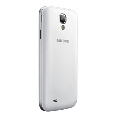Samsung oplader: Wireless Charging Cover suits Galaxy S 4, White - Wit