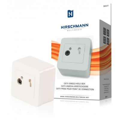 Hirschmann inbouweenheid: Catv single-hole box double galvanic isolation. for construction and assembly