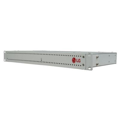 Lg seriele server: 100/1000T Ethernet, USB, 2x RJ-45, RS-232, Linux OS kernel 3.4 - Grijs