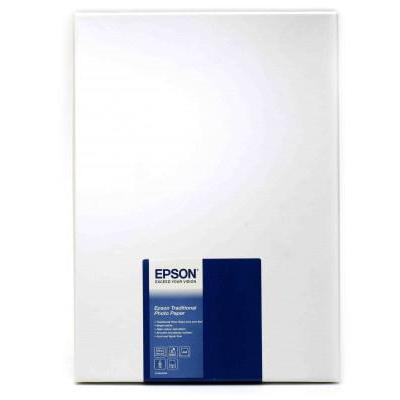 Epson fotopapier: Traditional Photo Paper, DIN A4, 330g/m², 25 Vel
