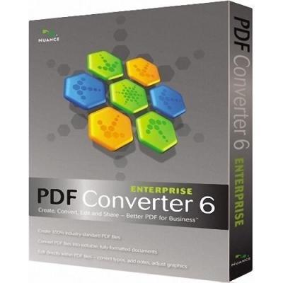 Nuance PDF Converter Enterprise 6 desktop publishing