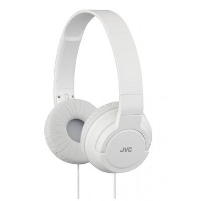 Jvc koptelefoon: 10 - 20000 Hz, 30mm, 1.2m, White - Wit