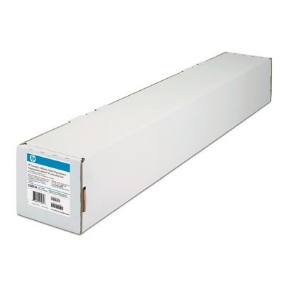 HP 2-pack Everyday Adhesive Matte Polypropylene 168 gsm-610 mm x 22.9 m (24 in x 75 ft) Transparante film