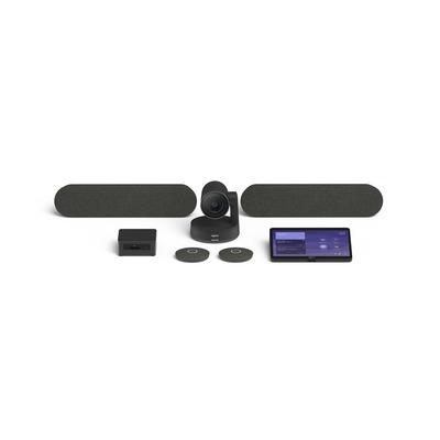 Logitech TAP Large Bundle – Microsoft Videoconferentie systeem - Zwart