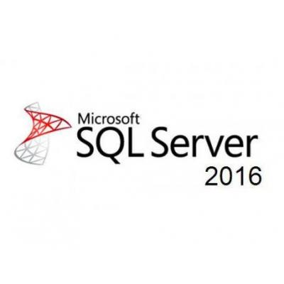 Microsoft software licentie: SQL Server 2016 Standard