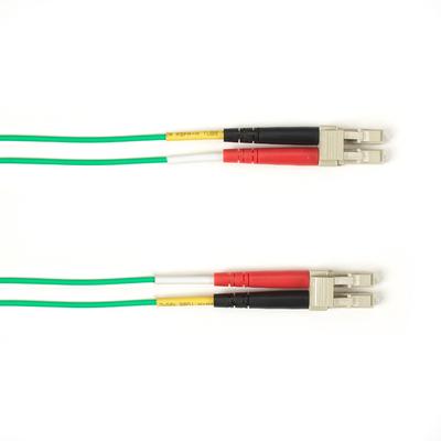 Black Box LC-LC, LSZH, Green, OM3, Multimode, 1 m Fiber optic kabel