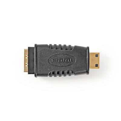 Nedis HDMI, HDMI Mini, ABS, Black Kabel adapter - Zwart