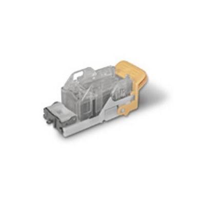 Xerox nietjes: Nietjescartridge voor Advanced en Professional Finishers en nieteenheid - Grijs, Transparant, Geel