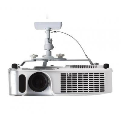 B-Tech Universal Projector Ceiling Mount Projector plafond&muur steun - Wit