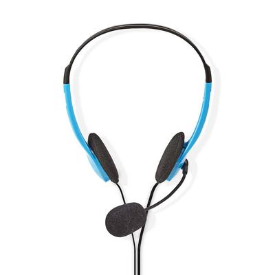 Nedis CHST100BU Headset - Blauw