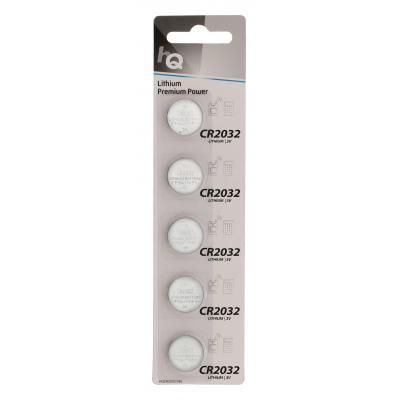 Hq batterij: Lithium Button Cell Battery CR2032 3 V 5-Blister