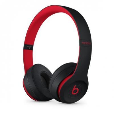 Apple headset: Beats Solo3 - Zwart, Rood