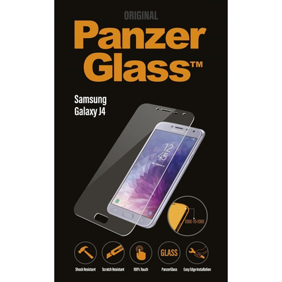 PanzerGlass Samsung Galaxy J4 (2018) Edge-to-Edge Screen protector - Transparant