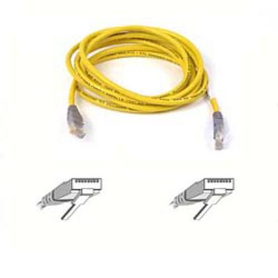 Belkin Patch Cable Cross Wired 1m Netwerkkabel - Geel