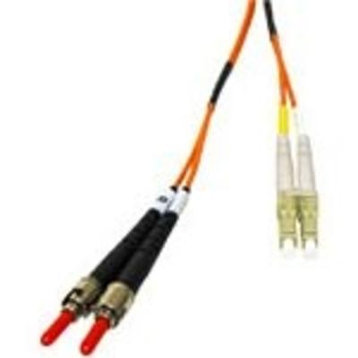 C2G 1m LC/ST LSZH Duplex 62.5/125 Multimode Fibre Patch Cable Fiber optic kabel