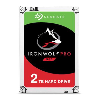 """Seagate IronWolf Pro 2TB 7200rpm 3,5"""" SATA Interne harde schijf"""