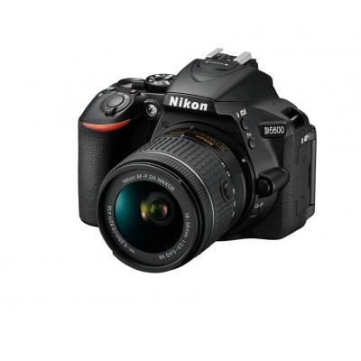 Nikon digitale camera: D5600 + AF-P DX 18-55mm G VR - Zwart