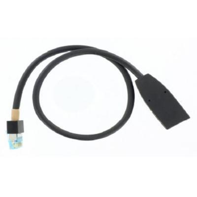 POLY Walta Female to RJ45 Male Cable (12in) Netwerkkabel - Zwart