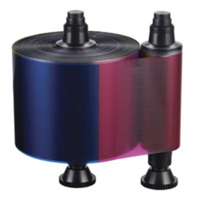 Evolis Colour ribbon (YMCKO) Printerlint - Zwart, Cyaan, Magenta, Geel