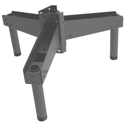 Chief Multi-directional Ceiling Triple Mount Adaptor, Black Muur & plafond bevestigings accessoire - Zwart
