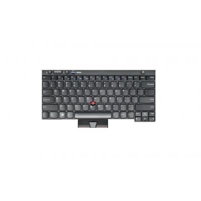 Lenovo notebook reserve-onderdeel: Keyboard for ThinkPad T530 - Zwart