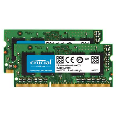 Crucial 16GB DDR3-1600 RAM-geheugen