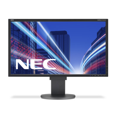NEC MultiSync EA224WMi Monitor - Zwart