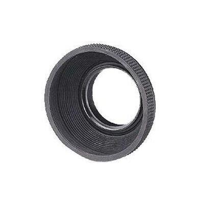 Hama lenskap: Rubber Lens Hood f/ Standard Lenses, 62 mm  - Grijs