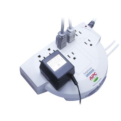 APC SurgeArrest, 8 outlet Surge protector - Beige