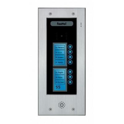 Fasttel deurbel: Wizard Elite FT2507V - Zwart, Grijs