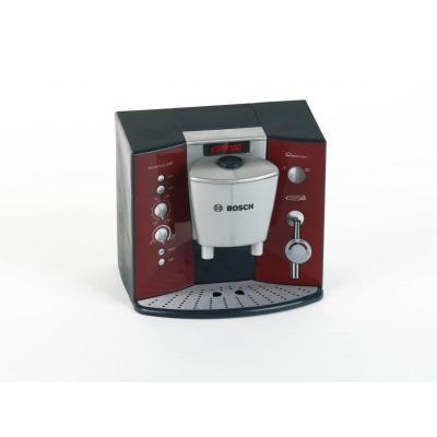 Theo klein role play toy: Bosch coffee machine with sound and espresso set - Zwart, Grijs, Rood