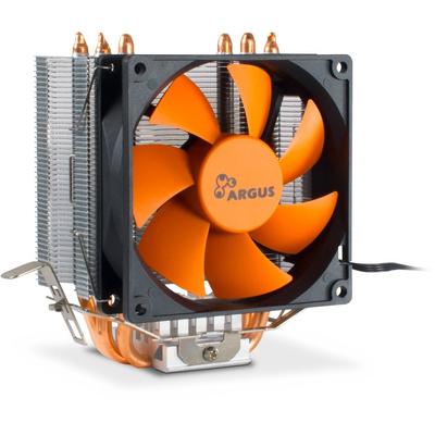 Inter-Tech Argus SU-200 Hardware koeling - Zwart,Oranje