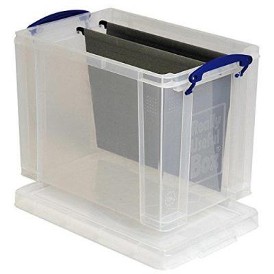 Really useful boxes archiefdoos: Transparante opbergdoos, 19l