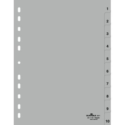 Durable 6511-10 Indextab - Grijs