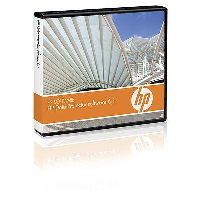 Hewlett packard enterprise opslagnetwerk tool: HP Data Protector V6.1 Starter Pack Windows DVD LTU
