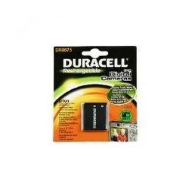 Duracell batterij: Digital Camera Battery 3.7v 770mAh - Zwart