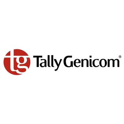 TallyGenicom Ribbon - Black Fabric Cartridge Printerlint - Zwart