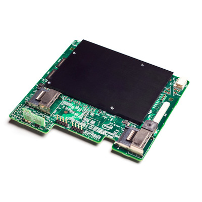 Intel raid controller: Integrated Server RAID Module AXXRMS2MH080