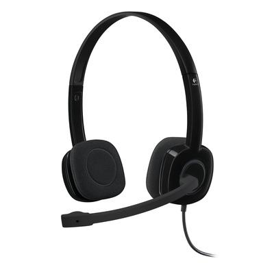 Logitech headset: H151 - Zwart