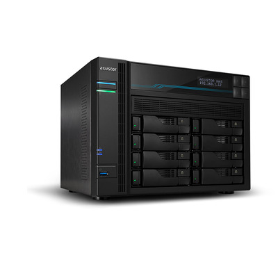 Asustor AS6510T NAS - Zwart