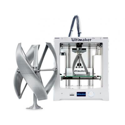 Ultimaker 3D-printer: 2+ - Zilver