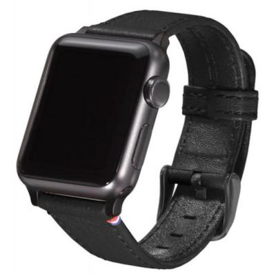 Decoded Leather Strap for AppleWatch 38 mm, Black