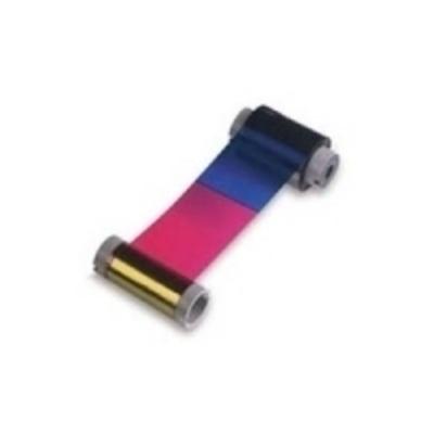 Zebra True Colours i Series YMCKK ribbon Printerlint - Multi kleuren