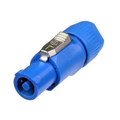 Neutrik kabel connector: NTR-NAC3FCA - Blauw