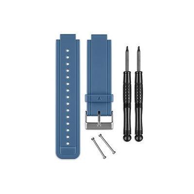 Garmin horloge-band: Siliconen banden voor vivoactive, Blauw