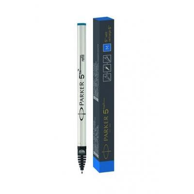 Parker 5THTM, Fine, Blue ink Pen-hervulling - Zwart, Wit