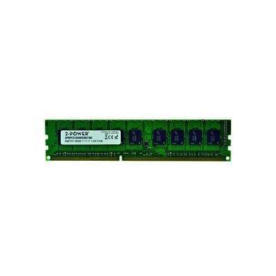 2-power RAM-geheugen: 8GB DDR3 1600MHz ECC + TS DIMM - Groen
